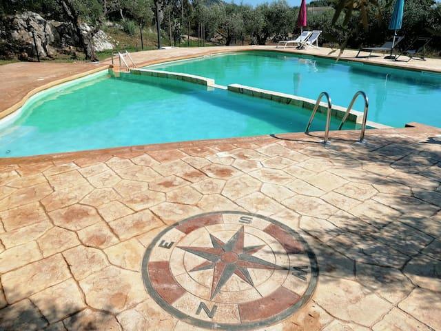 Villa Olivia Con Piscina (Casa Sole)