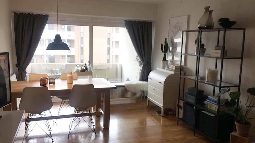 Cozy one-bedroom apartment in Aarhus (Risskov) - Risskov - Apartament