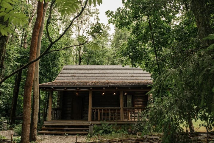 Настоящий эко-дом для идеального отдыха за городом