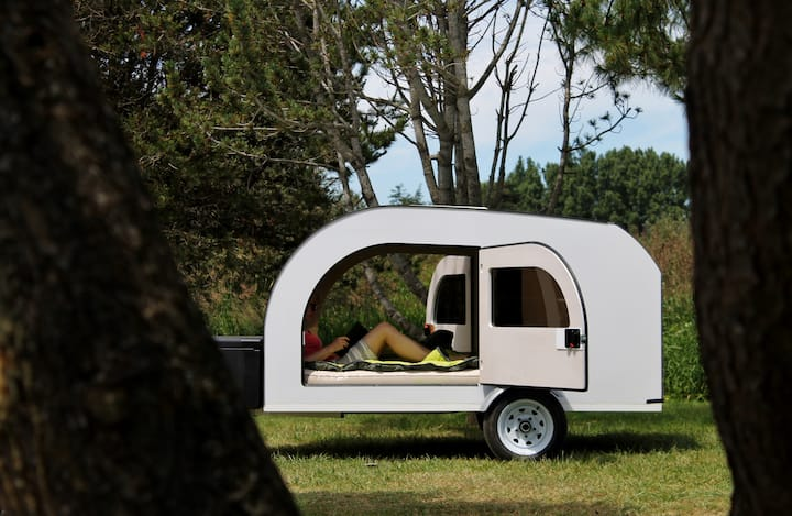 DROPLET teardrop trailer