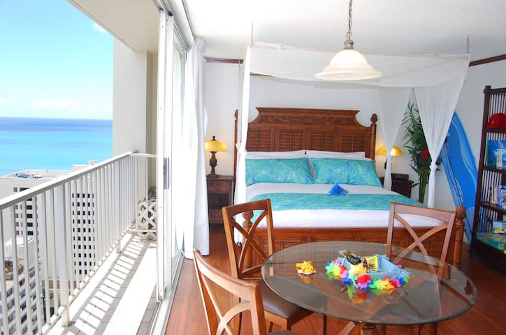 Gorgeous Ocean View studio in Waikiki