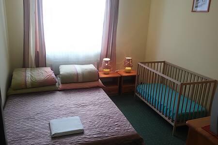 Apartament 3 osobowy 2 pokojowy - Willa - Krynica-Zdrój