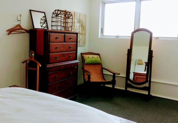 Master bedroom/upstairs loft area.