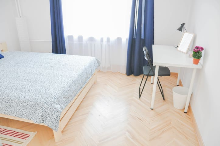 Mazowiecka Place | Bright room in the City Centre
