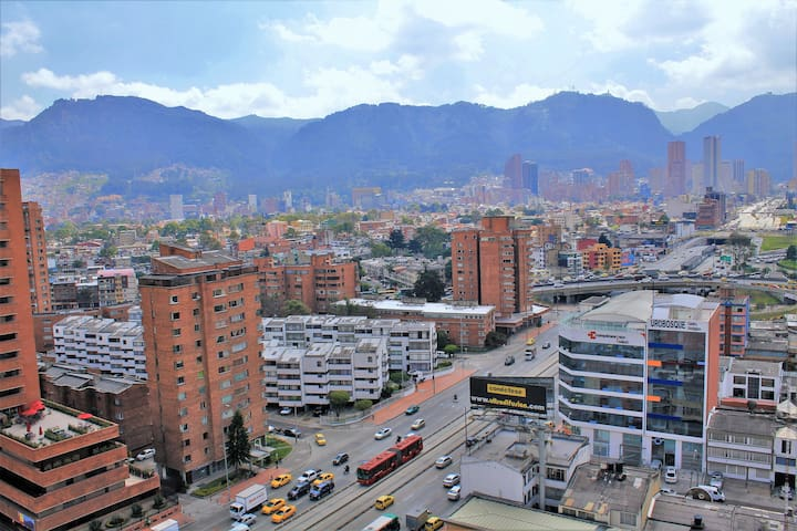 Duplex Apartment: the ideal location in Bogota! - Bogotá - Apartment