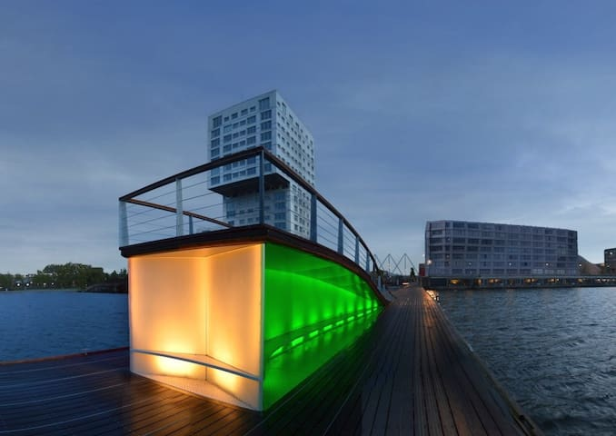 High end Luxury Lakeview Appartment - Almere - Daire