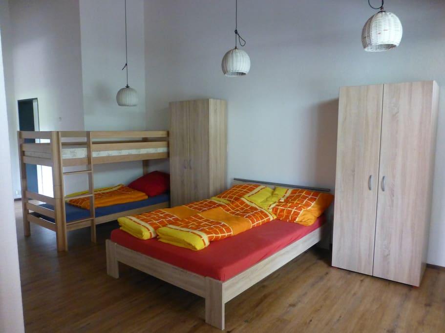 Kann als Wohnung oder Zimmer gebucht werden