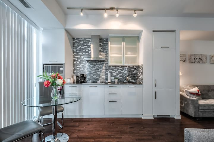 40+ Warm Condo Steps from UNStation&CNTower&ACC