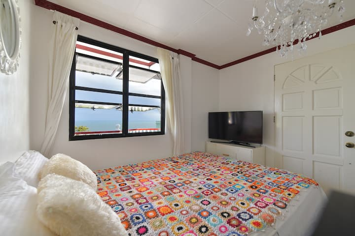 Room in kite beach with an ocean view