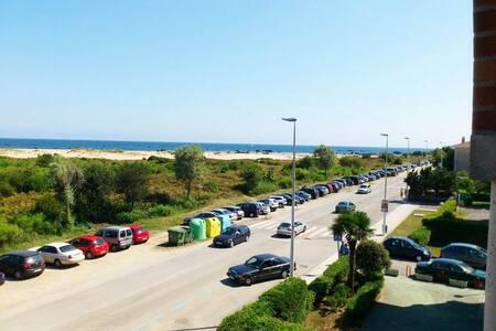 Apartamento Noja-Helguera, 1ª linea de playa - Noja - Dom