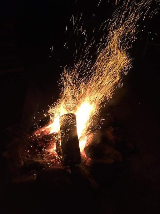 soirée  autour du feu!