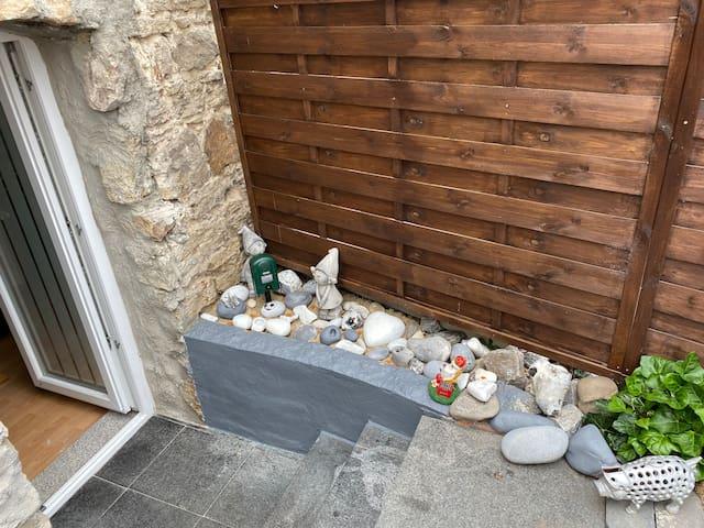 Detmold Hiddesen Zimmer mit Terrasse