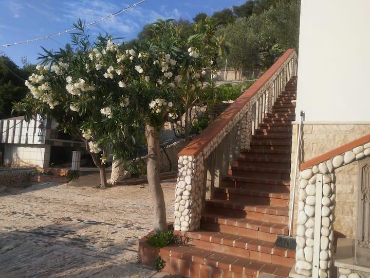 Villa Teresa con vista mare