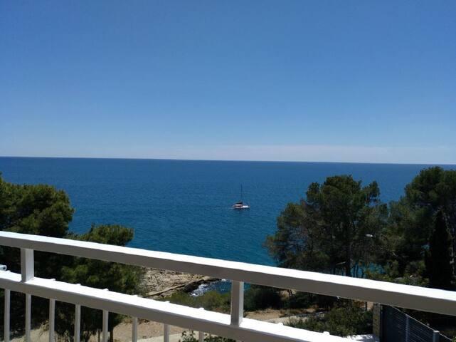 Precioso estudio al lado del mar y Port Aventura.