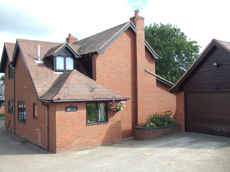 Main Farmhouse, Annex located to the Rear with Ample Outside Parking. Secure Parking Available for Motorbikes.