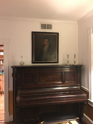 Dining room piano from 1888