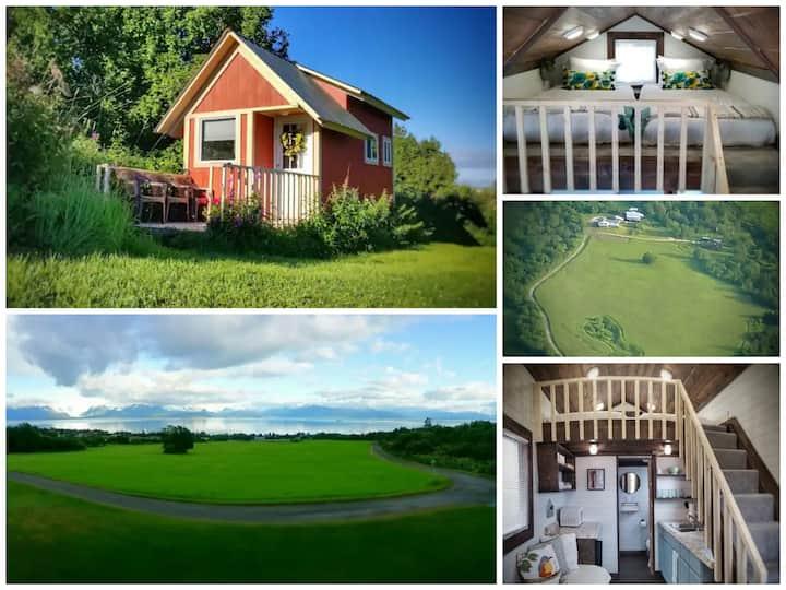 New Cozy Tiny House On Historic 28 Acres 180° View
