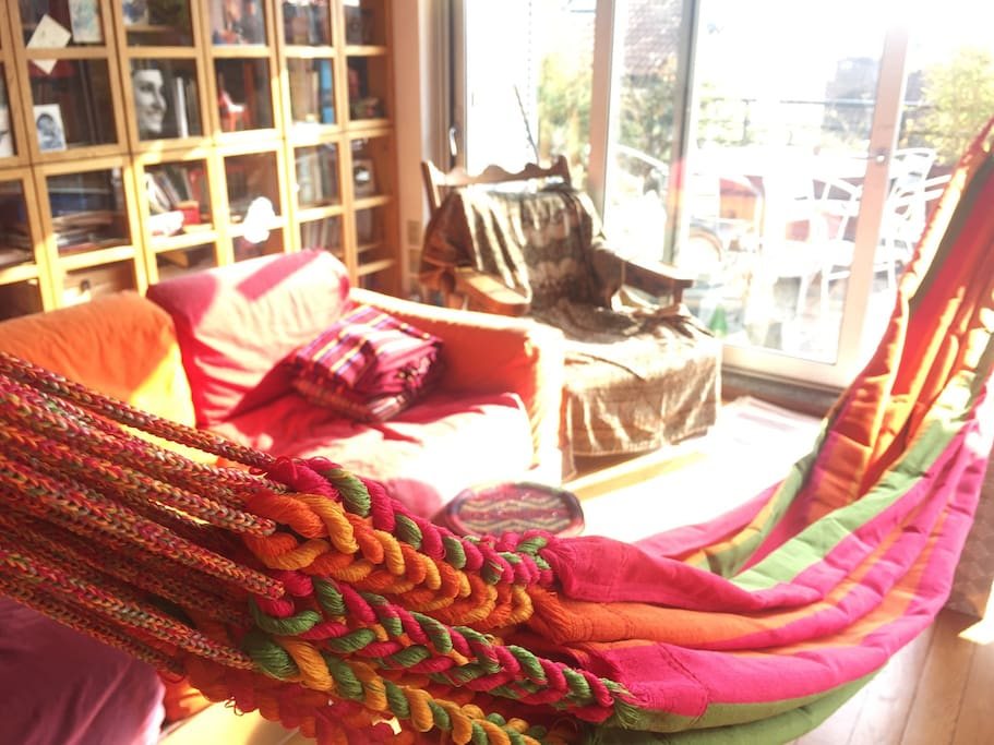 The new Colombian hammocks! Ask if you want one!
