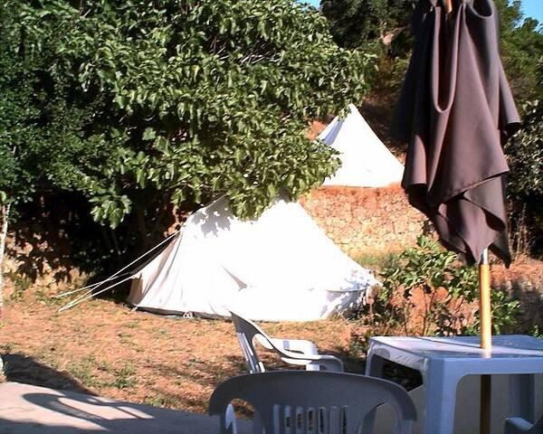 "Bell Tent ""Taj Mahal"" - Monchique - Çadır"