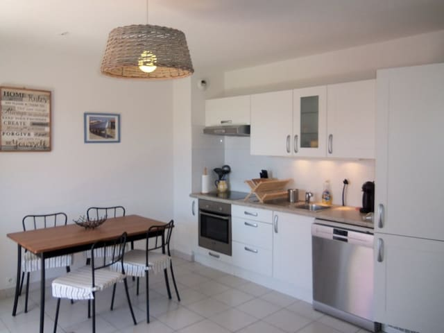 Beautiful apartment close to the center of Soula/mer