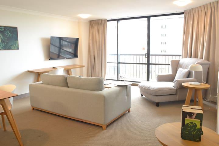 25) Views & Comfort /Fresh & light- Sth Bank/Gabba