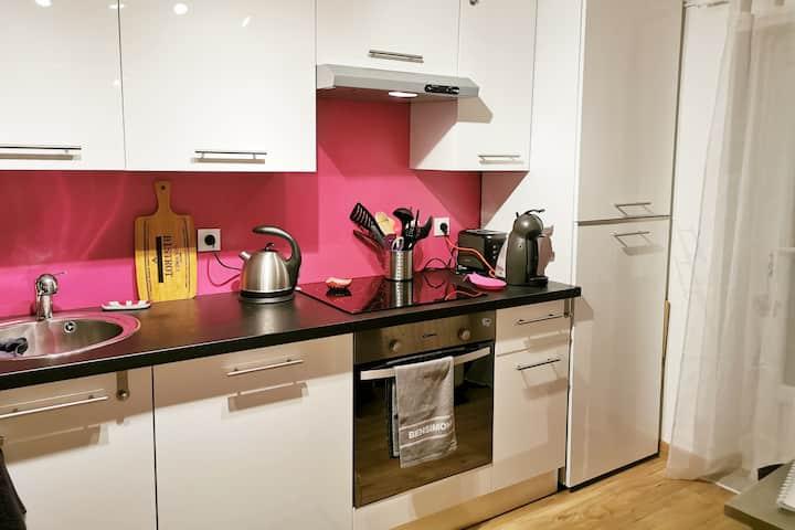 Bel Appartement 2* de 37 m2  calme et lumineux