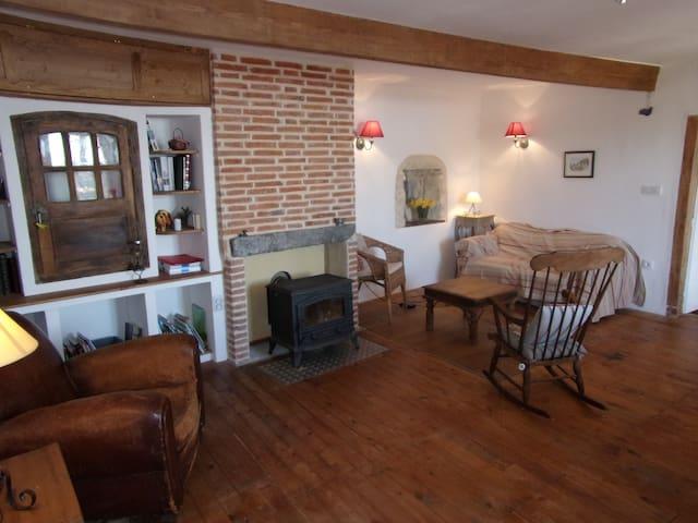Maison chaleureuse et familiale au calme - Chidrac - Rumah