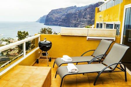 Bonito apartamento con espectaculares vistas - Santiago del Teide - Apartment