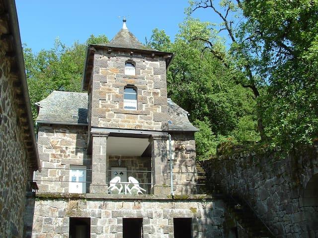 Gîte de charme dans le domaine d'un château privé - Raulhac - Dům