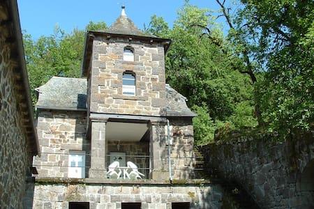 Gîte de charme dans le domaine d'un château privé - Raulhac - House