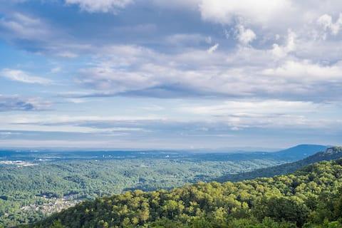 Mountain Paradise w/ Million Dollar View & Firepit