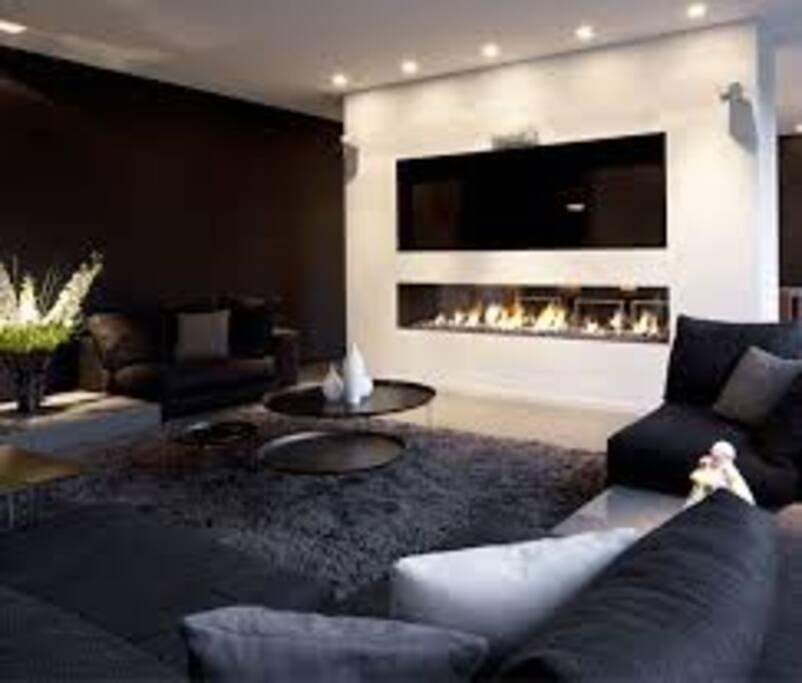 sala de estar comoda