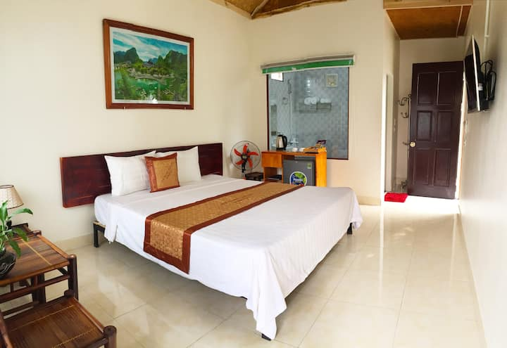 anh huong tam coc homestay - bungalow double