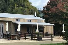 Dunbar Estates Cellar Door and Cafe- on site