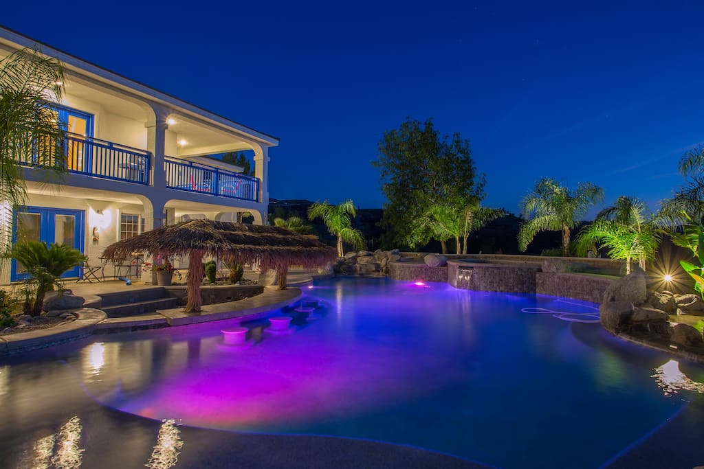 Beautifully Lit Estate Home with Pristine Surroundings