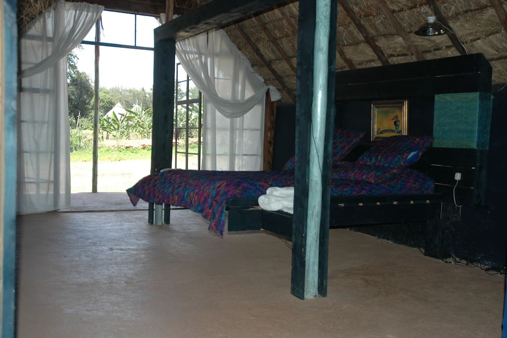 Interior of River lodge