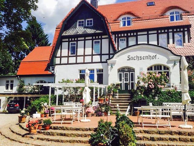 Romantisches Ferienzimmer Sachsenhof 7