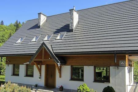 Moderne Villa in Zwardon mit Sauna