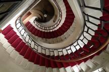 Escalier du XVIIIè 18th century staircase