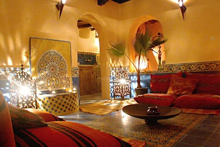 Riad Al Anbar in the medina - Essaouira - Maison
