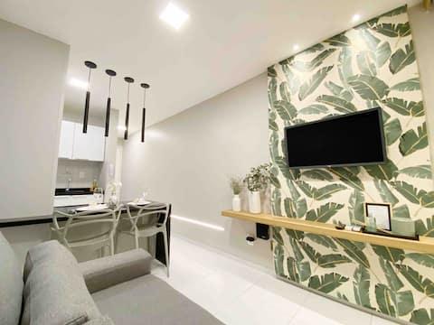 Um sonho de estadia - Flat Luxo e Design