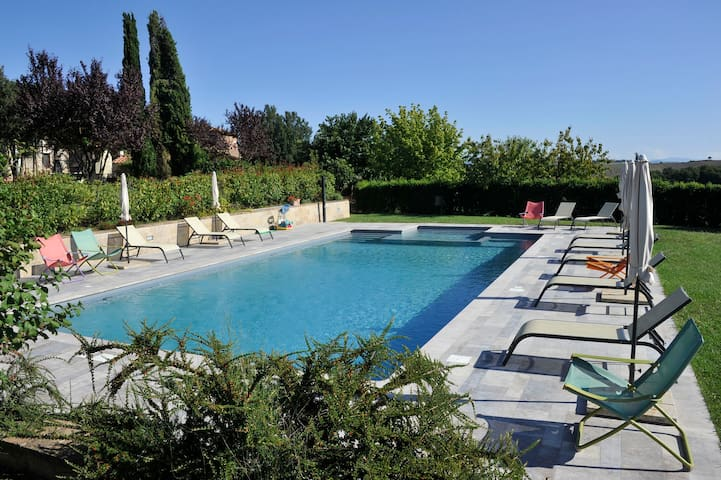 Casale1, in the heart of Tuscany, a fantastic view - Siena - Apartmen