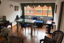 Cozy flat in bogotá and friendly hosts