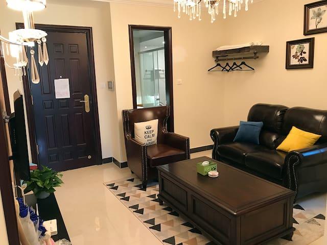 恒大城美式豪华公寓一室一厅一厨一卫
