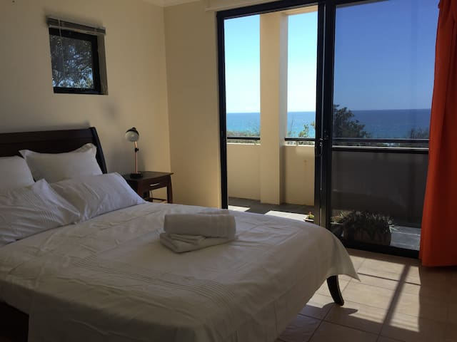 "Ocean Front Master Bedroom......""Simple luxury"". - Sunrise Beach"