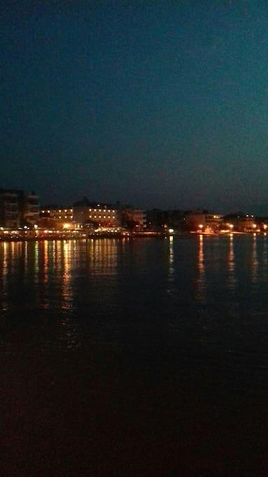 Perea's beach by night!