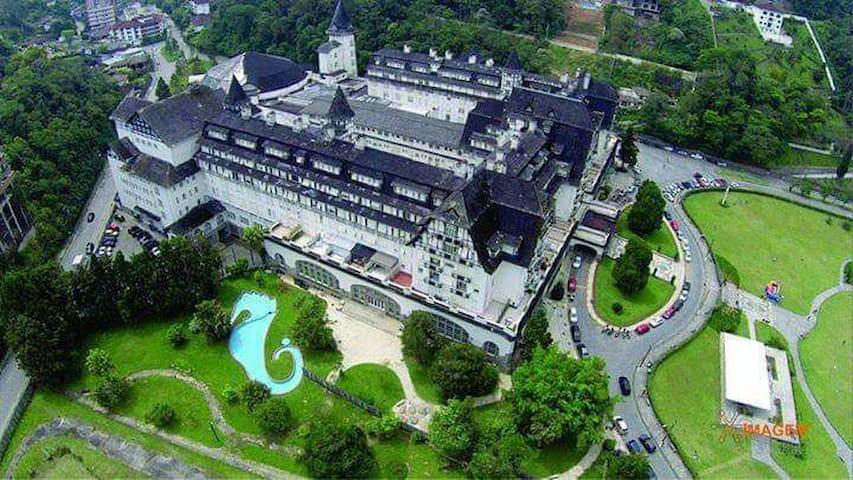 Apartamento no Palácio Quitandinha!