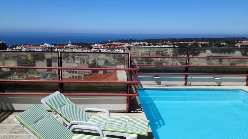 Spacious Cascais Apartment with Rooftop Pool - Cascais