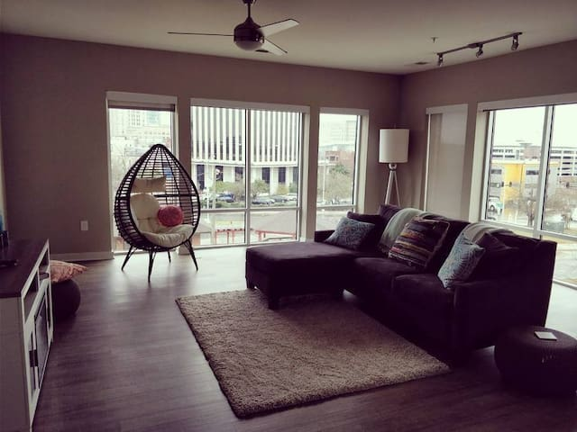 Downtown Durham Luxury Apartment with great views