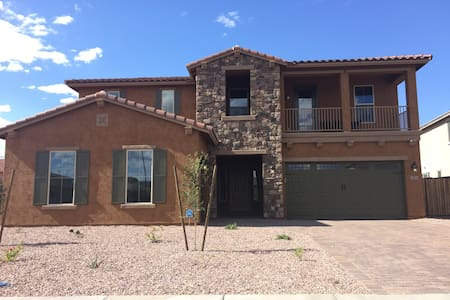 Stunning new 5BDR in Family resort community, pool - Gilbert - House
